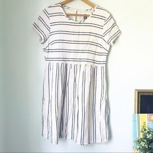 Old Navy Fit 'n Flare Striped Dress